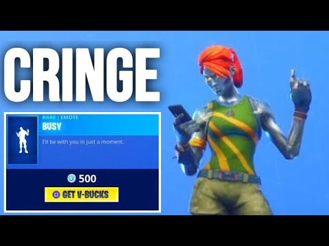 Cringy Emote You NEED To See To Believe... Fortnite ITEM SHOP [November 4] | Kodak WK