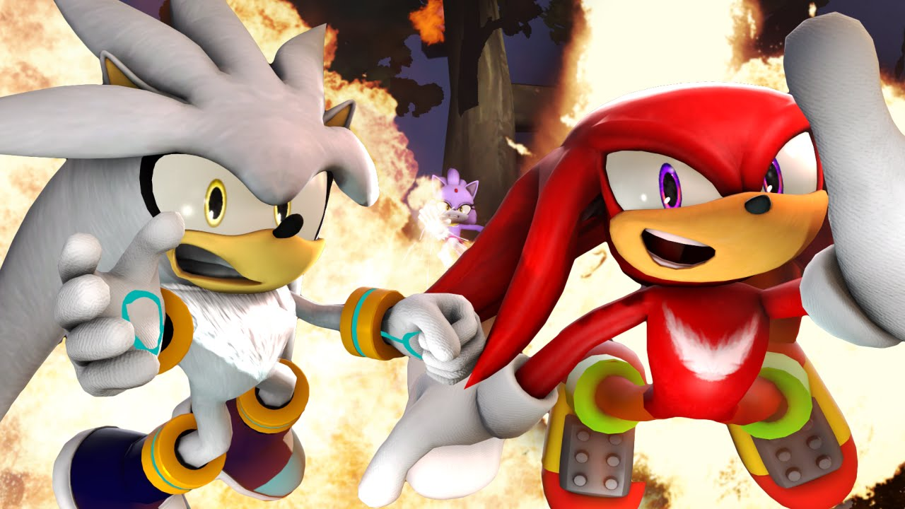 Sonic Animation Where S Blaze Starring Silver The Hedgehog Sfm Animation Sonic Animation Sonic The Hedgehog Know Your Meme