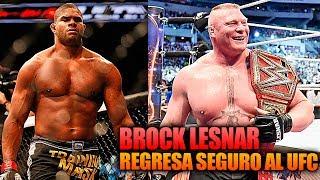 Brock Lesnar regresa a UFC este mismo año, Overeem: No me interesa el boxeo   UFC En Español