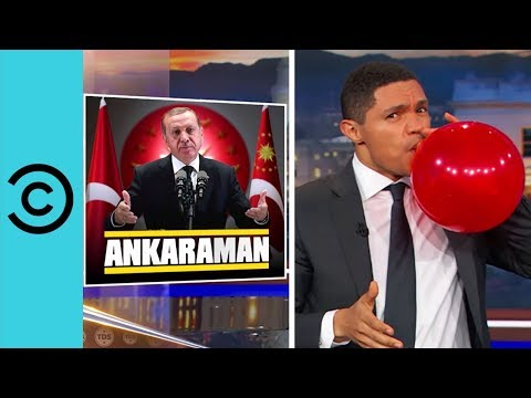 Things Are Happening In Turkey, Bigly   The Daily Show