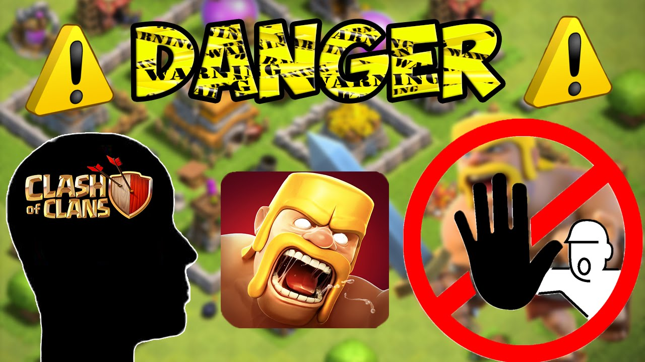 les dangers de clash of clans et des jeux vid os youtube. Black Bedroom Furniture Sets. Home Design Ideas