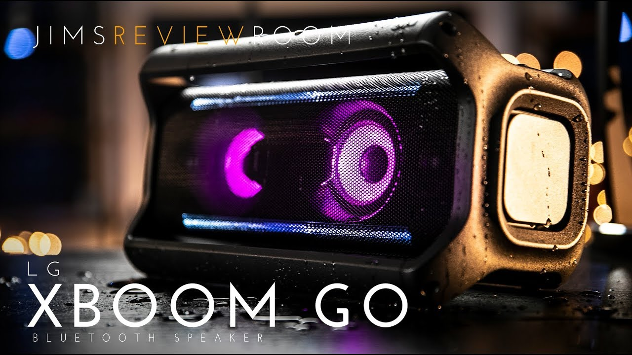 LG Xboom Go PK7 Bluetooth Speaker w/ JBL Xtreme 2 - REVIEW