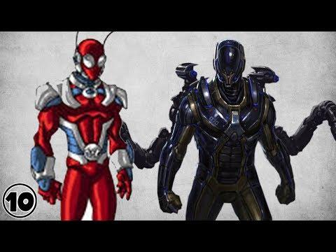 Top 10 Alternate Versions Of Ant-Man