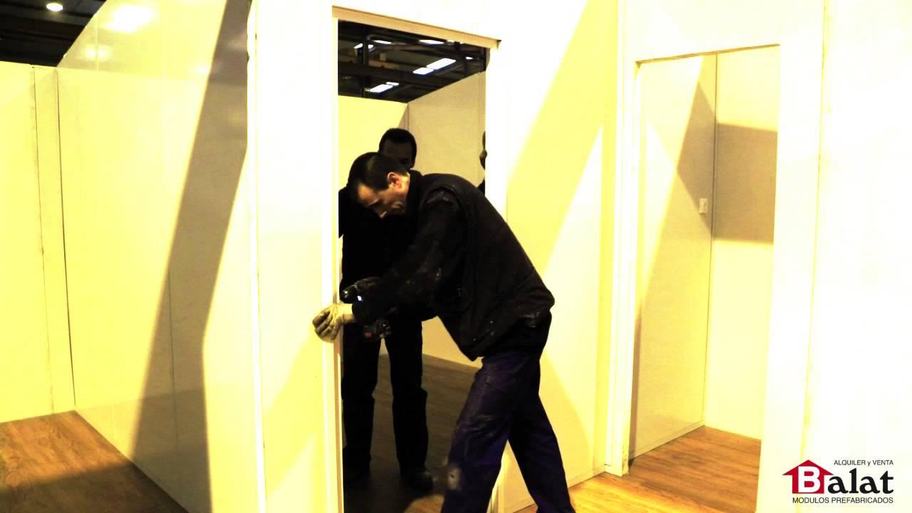 Balat proceso de montaje de una casa prefabricada balat - Balat modulos prefabricados ...