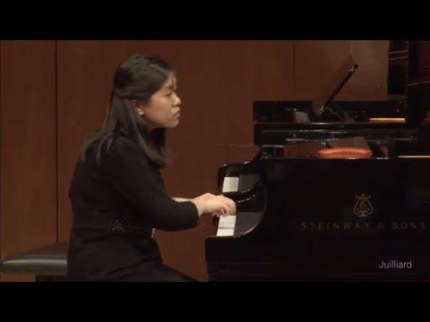 Anran Qian, piano | Juilliard Robert Levin Piano Master Class