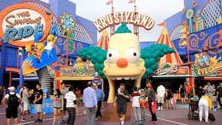 [HD] Tour of the NEW Krustyland