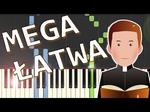 Idzie mój Pan - Piano Tutorial (MEGA ŁATWA wersja)