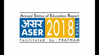 Release of Annual Status of Education Report, 2018