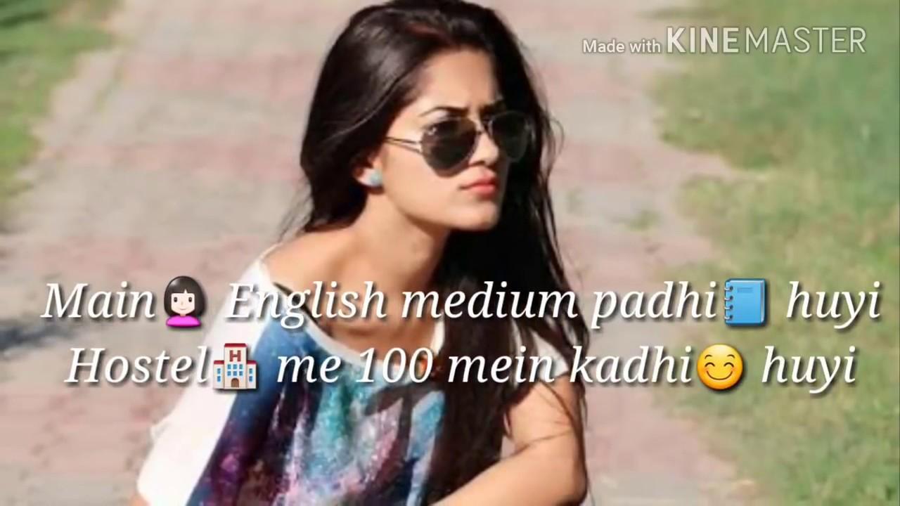 Girls Attitude Best Whatsapp Status Video Youtube