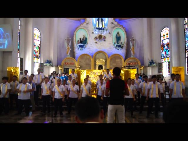Ang Pagdalaw sung by ADU BA chorale during the 2014 Canticle Chorale Fest Travel Video
