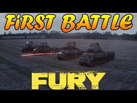 Men of War Assault Squad 2 - Fury First Battle Scene - Editor Scenario #27  