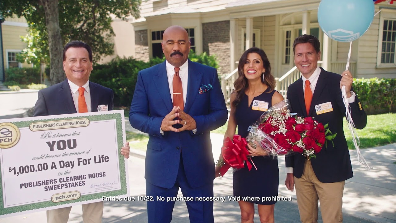 PCH Big Check Co-Stars In Our Newest TV Commercials! - PCH Blog