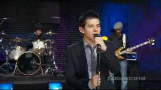 David Archuleta AOL sessions Touch my hand