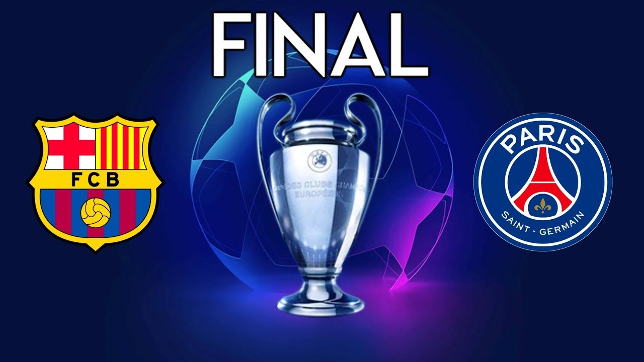 UEFA Champions League Final 2020 - Barcelona vs PSG - YouTube