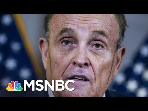 Rudy Giuliani: I Got Special Covid Treatment Because I'm A 'Celebrity' | All In | MSNBC