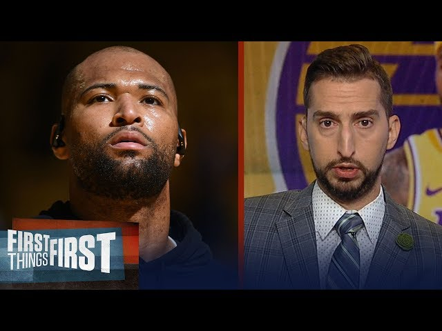 DeMarcus Cousins suffers torn ACL injury - Nick and Cris react | NBA | FIRST THINGS FIRST