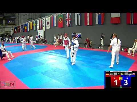 126  Julien, Kyla, GBR vs  Pauli, Lara Elaine, GER 3 4