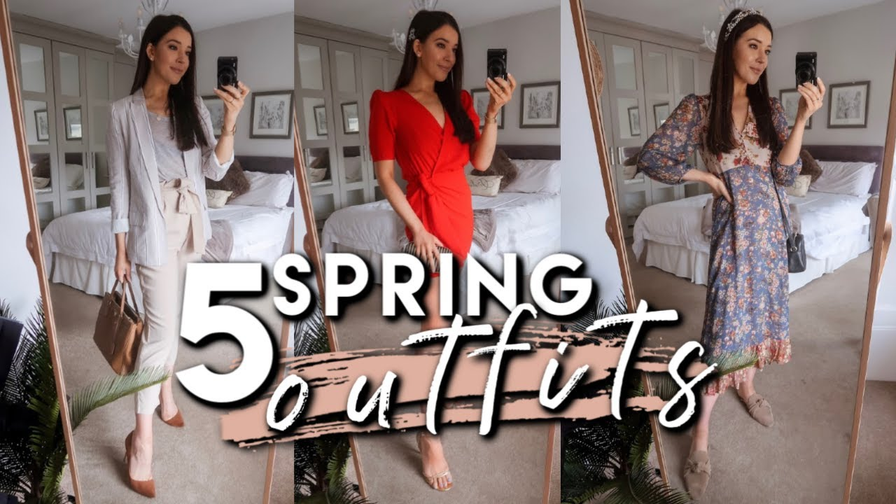 WHAT I WORE IN A WEEK | 5 SPRING 2019 OUTFIT IDEAS FOR ALL OCCASIONS