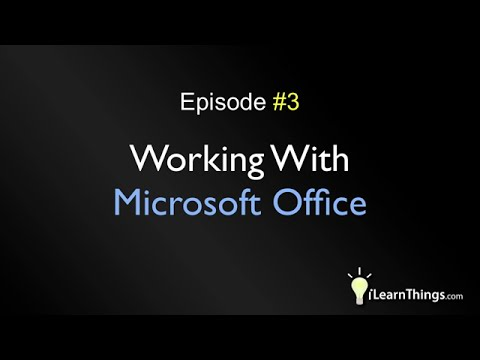 Working With Microsoft Office Documents In OpenOffice.org