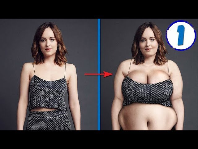 From Thin to Fat in Photoshop #1