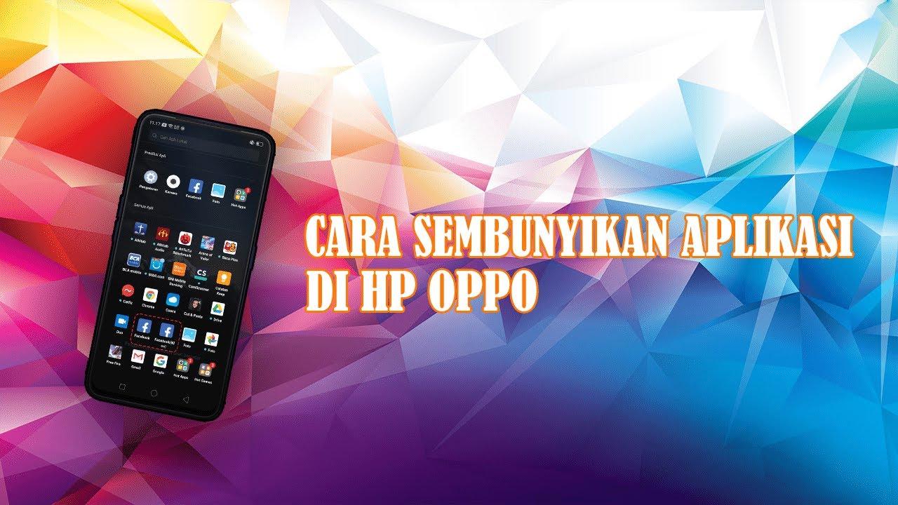 cara menyembunyikan aplikasi di hp oppo neo 7