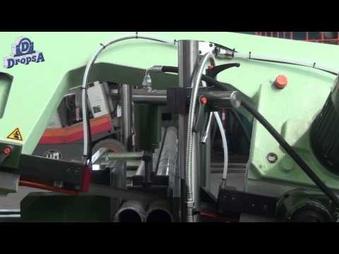 Lubrication of CARIF bandsawing machines using MiQueL