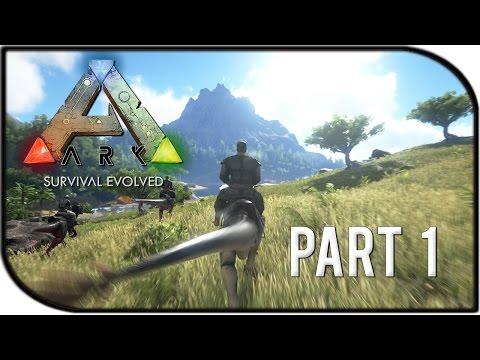 ARK: Survival Evolved Gameplay Part 1 -