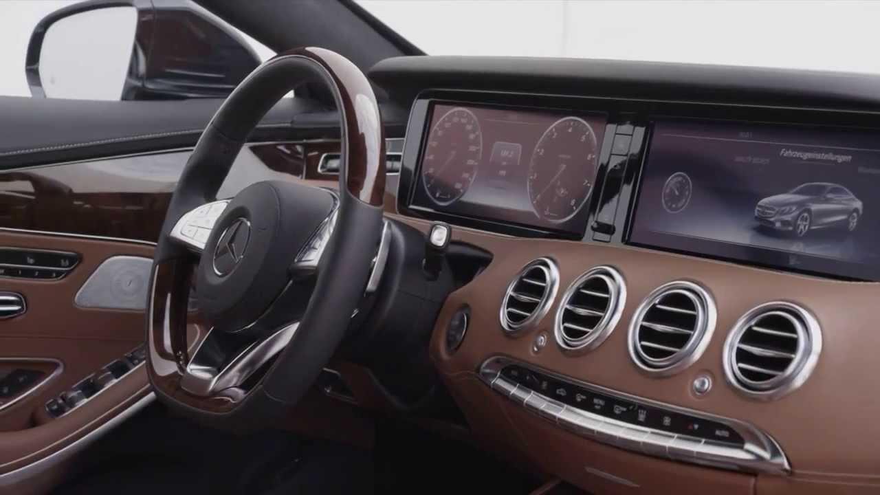 Interieur mercedes  Mercedes S Class Coupe S500 - L'interieur (Le Billet Auto HD ...