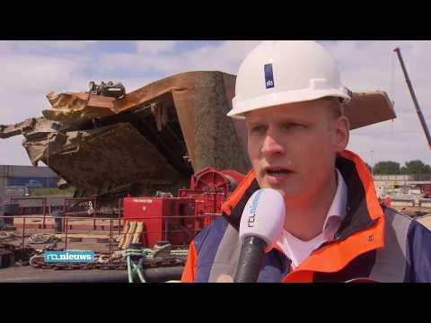 Berging schip Baltic Ace - RTL Nieuws