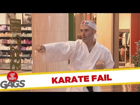 Biggest Karate FAIL EVER!