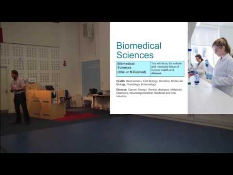 Biological Sciences talk, Open Days 2016 - University of Southampton