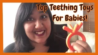 Top Teething Toys for Baby