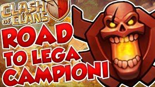 Road To Lega Campioni II #4 - TANTI FAIL! - Clash of Clans [ITA]
