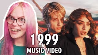 CHARLI XCX, TROYE SIVAN - 1999 (MUSIC VIDEO REACTION) | Sisley Reacts