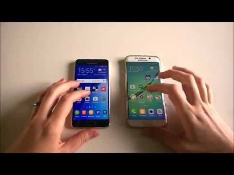Samsung Galaxy A3 (2016) vs Samsung Galaxy S6 edge: speed test