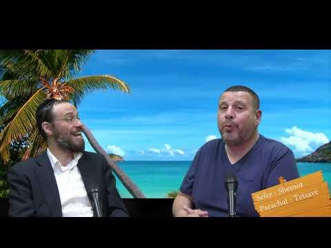 Sefer Chemot : PARACHAT TETSAVE (20) avec le duo Rav Brand et Fabrice