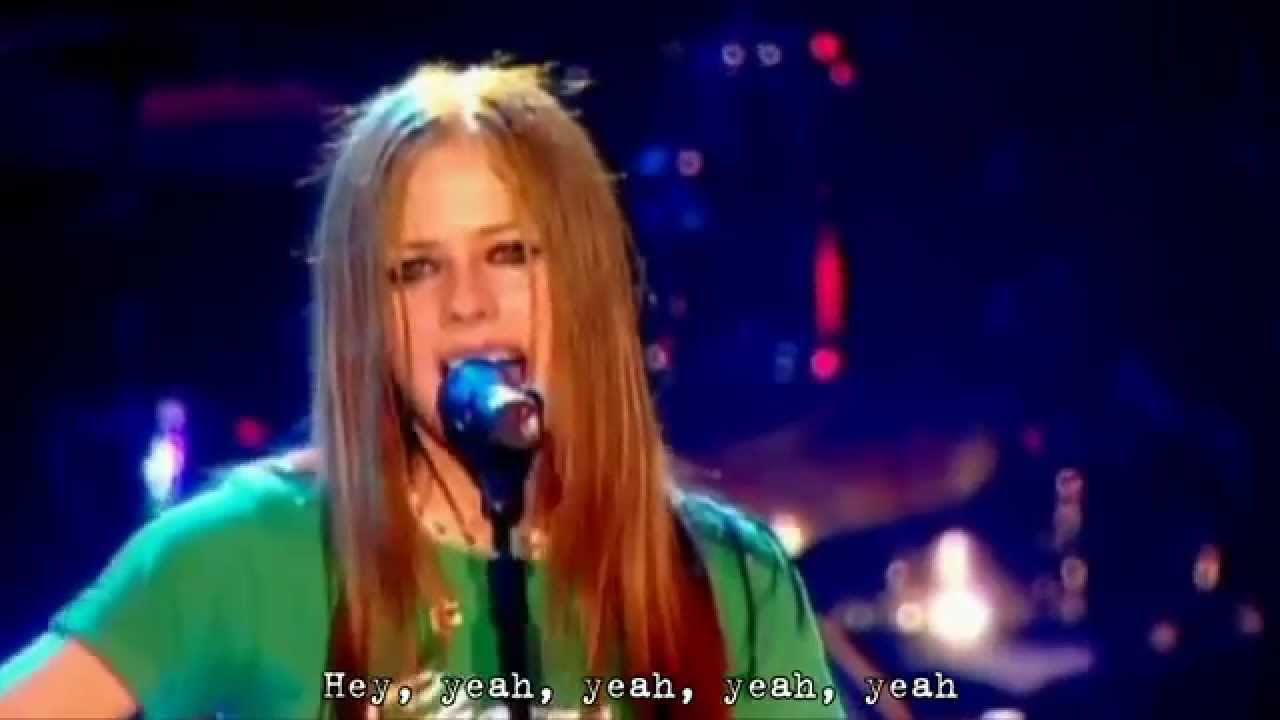 Avril Lavigne Tomorrow HD Legendado 2003 Show Dedicado Ao ... Avril Lavigne Tomorrow
