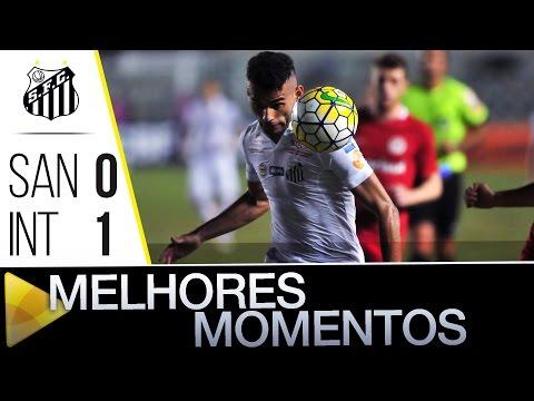 Santos 0 x 1 Inter | MELHORES MOMENTOS | Brasileirão (29/05/16)
