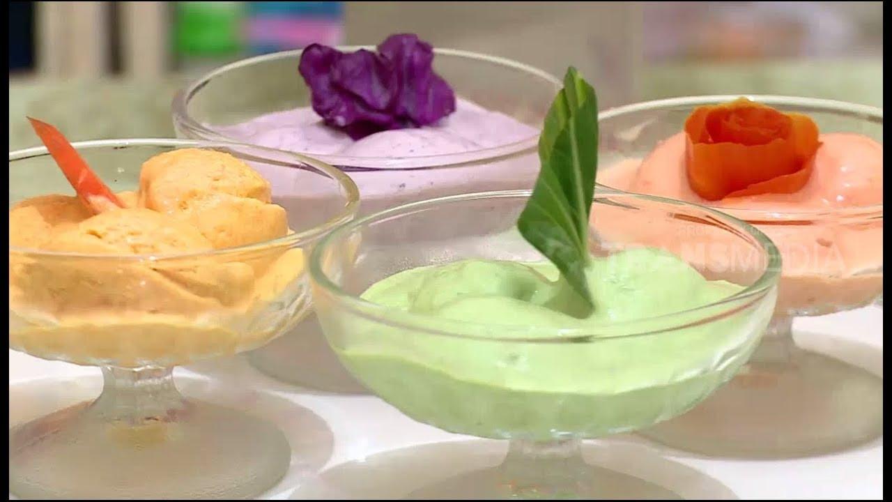 Es Krim Sayur Segar Dan Menyehatkan Youtube