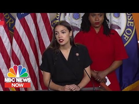Alexandria Ocasio-Cortez On Trump's Comments, Tweets: 'This Is All A Distraction' | NBC News Now