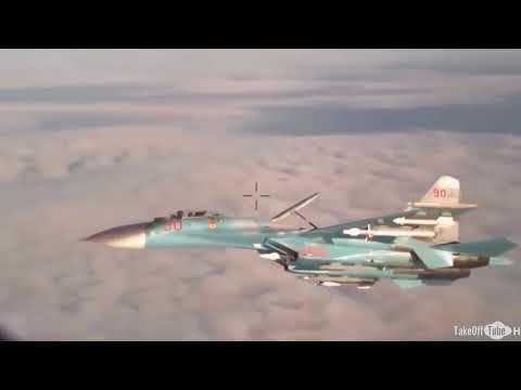 Pesawat Tempur Russia Su 27 Mencegat P3C Orion U S Di Laut Hitam