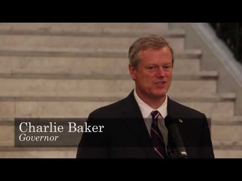 Governor Baker and Lt. Governor Polito mark Brain Aneurysm Awareness Month