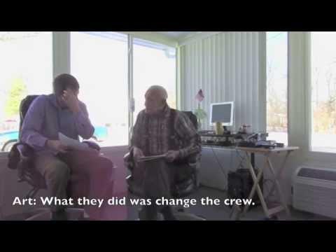 Arthur Potter Jr. Interview 388th Bomb Group WWII B-17 Tail Gunner Part 2