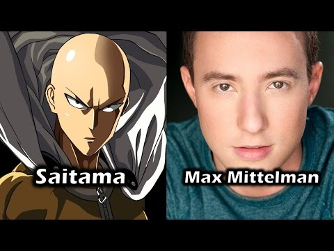 Characters and Voice Actors - One-Punch Man (English Dub)