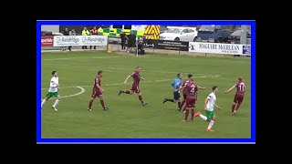 Breaking News | Quick-witted Cabinteely forward bamboozles Galway keeper for bizarre goal