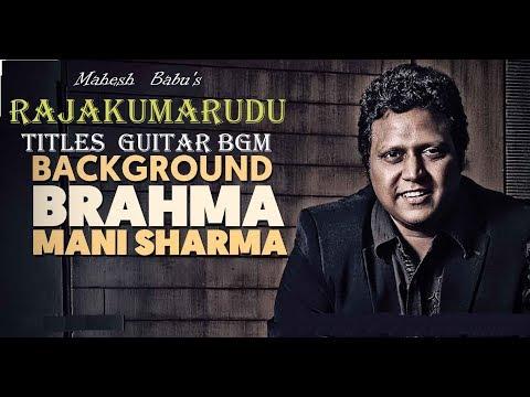 Mahesh Babu's RAJAKUMARUDU Awesome Titles GUITAR BGM  HD  MAHESH BABU II PREETHI JINTA II MANISHARMA