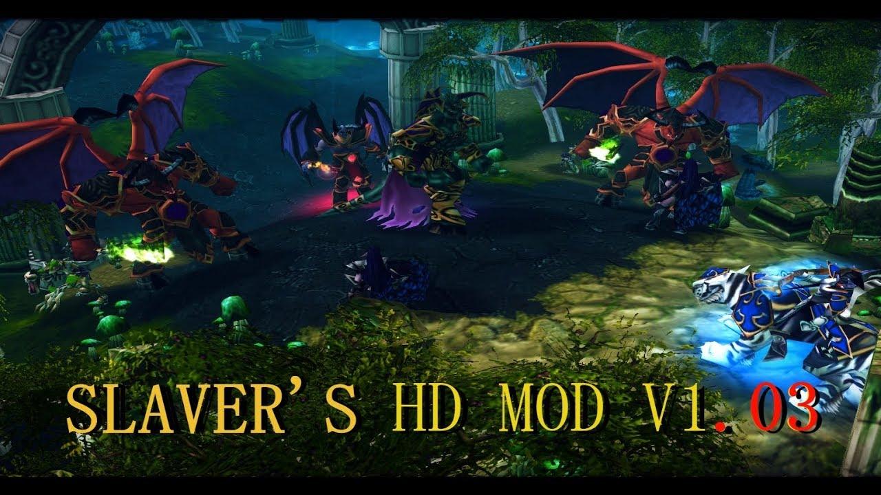 Warcraft 3: HD | High Definition Mod V1.04 2018