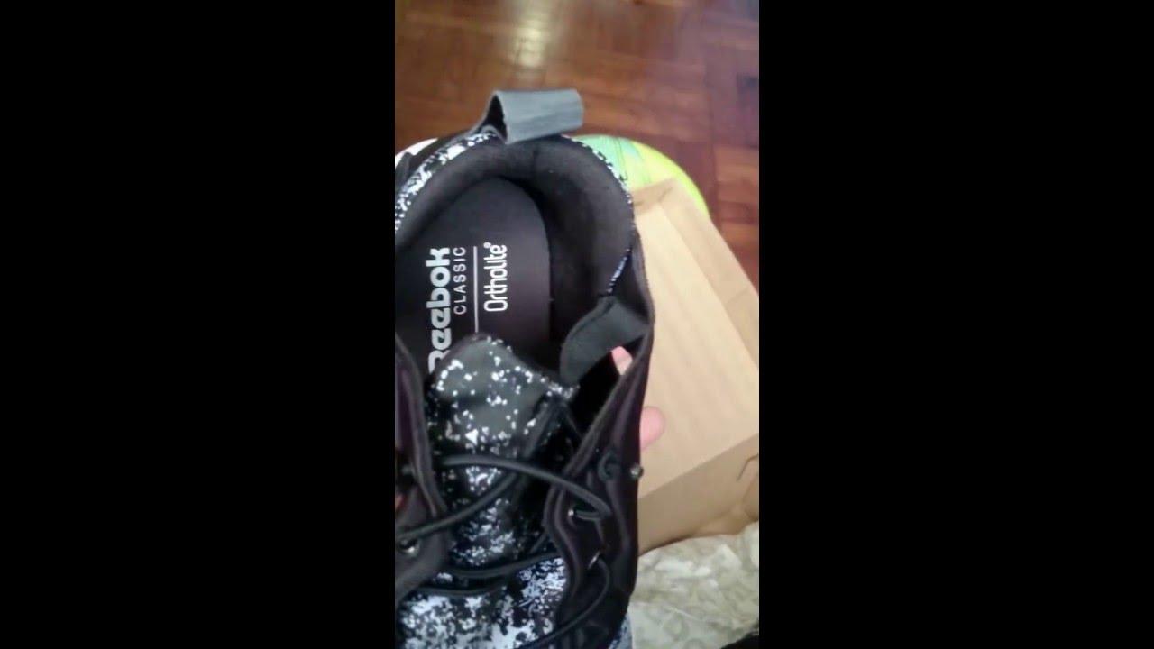 07f09aeebea9 Reebok furylite Jf black white Review - YouTube
