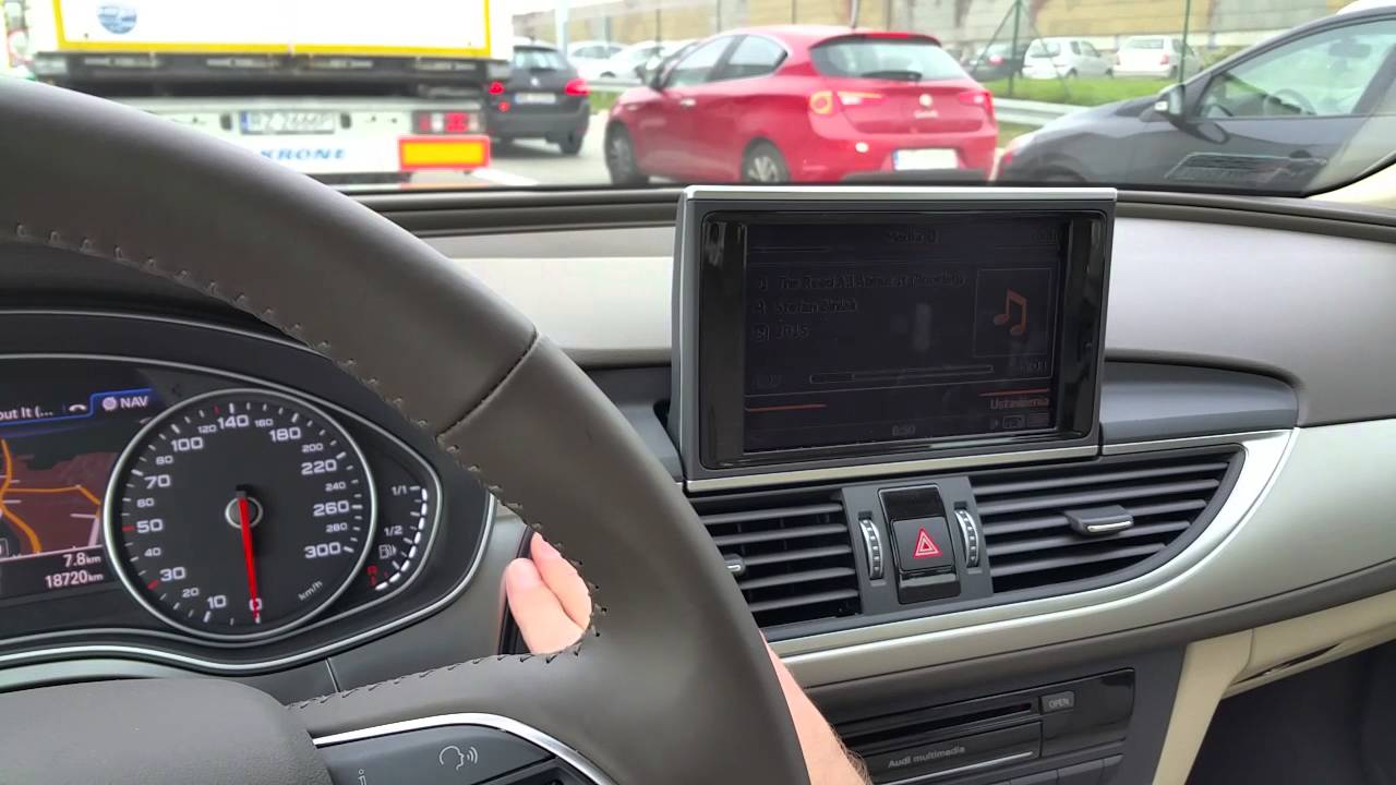 Audi A6 C7 2015 Mmi Display Rollout Youtube