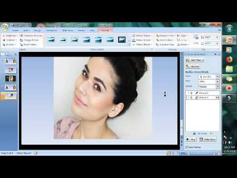 How To Make Photo Animation In PowerPoint(tips&tricks)